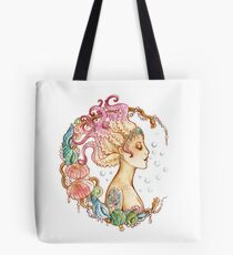 Octopus Mermaid Tote bag