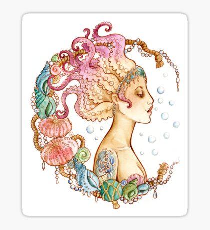 Octopus Mermaid Sticker