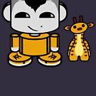 Ziha'o O'BABYBOT Toy Robot 1.0 by Carbon-Fibre Media