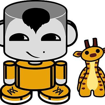Ziha'o O'BABYBOT Toy Robot 1.0 by carbonfibreme