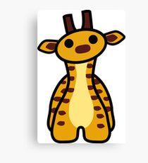 Fizz the Giraffe Canvas Print