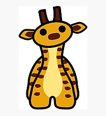 Fizz the Giraffe Photographic Print