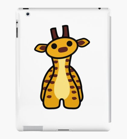 Fizz the Giraffe iPad Case/Skin