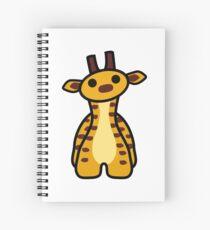 Fizz the Giraffe Spiral Notebook