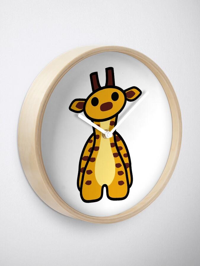 Alternate view of Fizz the Giraffe Clock