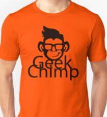 Geek Chimp T-Shirt Black & White Modern T-Shirt