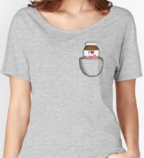 Pocket Nutella Women's Relaxed Fit T-Shirt