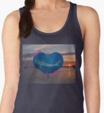 Utila Whale Shark Sunset Women's Tank Top