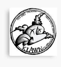 Klawn Logo 1 Canvas Print