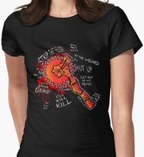 Borderlands 2 - Buzz Axe Rampage Women's Fitted T-Shirt