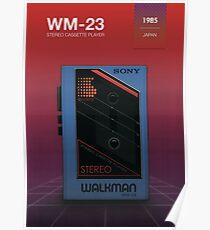 Sony Walkman - WM-23 Poster