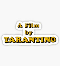 Film By Tarantino Sticker