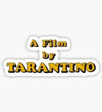 Film By Tarantino Sticker