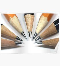 Pencils Poster