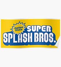Super Splash Bros. Poster
