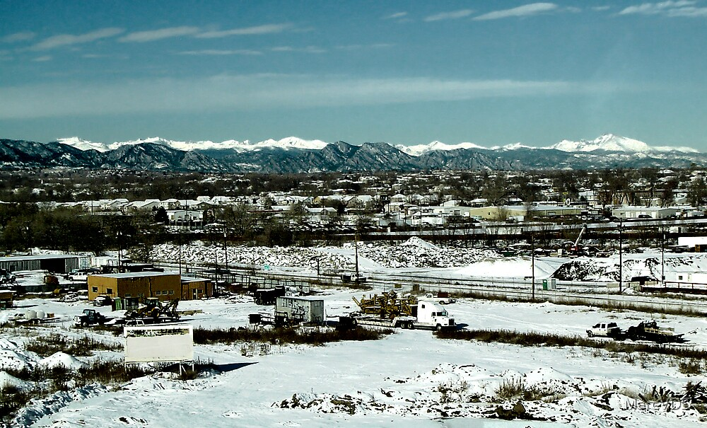 Winter near Denver by MarcVDS