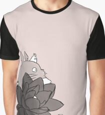 Studio Ghibli Lotus Graphic T-Shirt