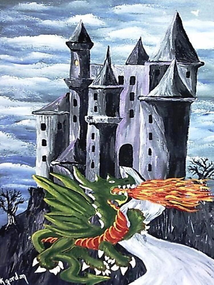 Green Dragon by WhiteDove Studio kj gordon