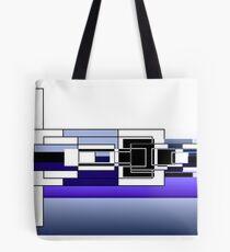 Square Horizon Tote Bag