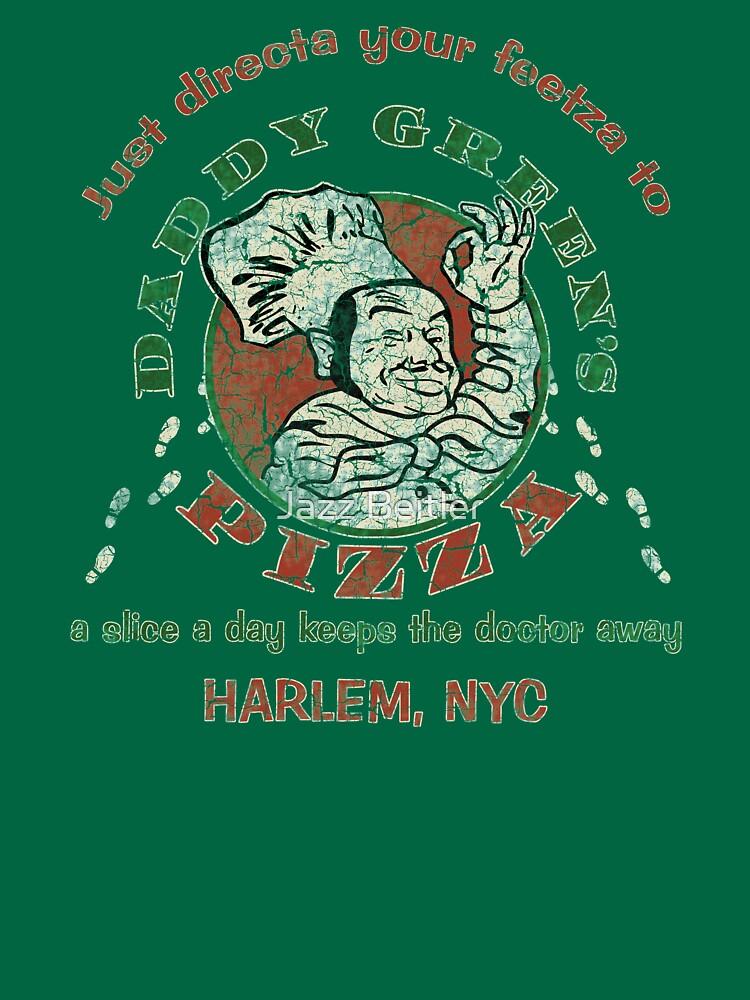 daddy green s pizza unisex t shirt by imsecretlygeeky redbubble