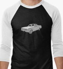 Classic HK Holden Dark T Men's Baseball ¾ T-Shirt