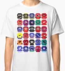 8-Bit Hockey Jerseys Classic T-Shirt