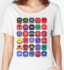 8-Bit Hockey Jerseys Women's Relaxed Fit T-Shirt