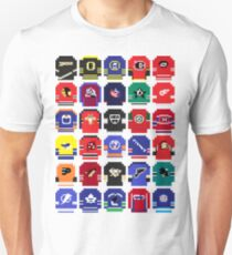 8-Bit Hockey Jerseys Unisex T-Shirt