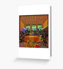 """Collective Farm Lyrics 4""  Greeting Card"