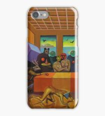 """Collective Farm Lyrics 4""  iPhone Case/Skin"