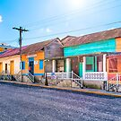 Colorful Streets of San Juan del Sur  Nicaragua by Mark Tisdale
