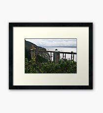 Bixby Creek Bridge, Monterey County, California Framed Print