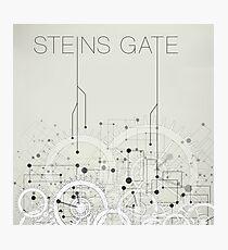 Steins Gate Photographic Print