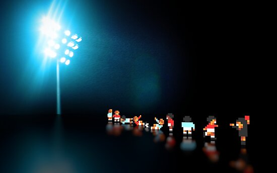 Sensible Soccer pixel art by smurfted