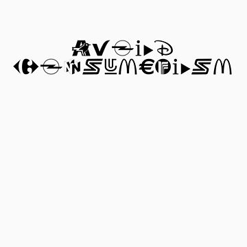 Avoid Consumerism by rsmac