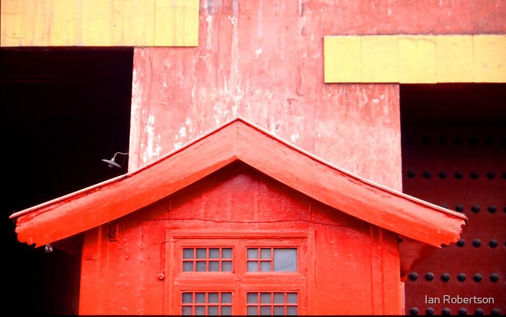 red door by Ian Robertson