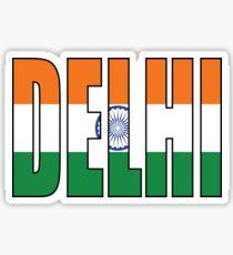 Delhi Sticker