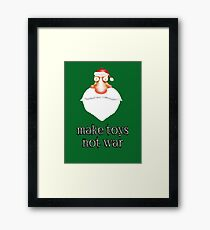 make toys Framed Print