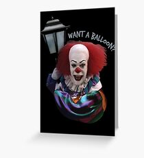Want a balloon? Greeting Card