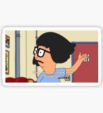 Tina's Charm Bomb Sticker