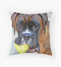 Tennis jedermann ?? ... -Boxer Dogs Series- Dekokissen