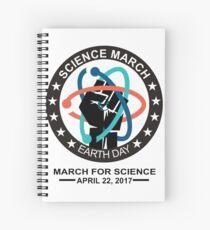 Wissenschaft März Spiralblock