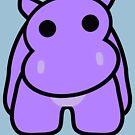 Crumple the Grumpy Hippo by Carbon-Fibre Media