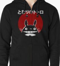 Totoro Zipped Hoodie