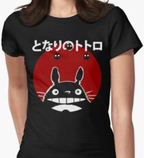 Totoro Women's Fitted T-Shirt