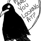 What Are You Looking At? Crow by Sarah M. Robbins