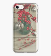Winter Holly Berries iPhone Case/Skin