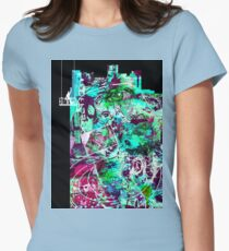 Cool Graffiti Collage 2 Womens Fitted T-Shirt