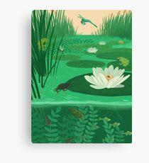:V Canvas Print