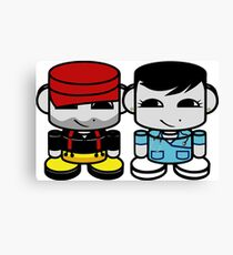 Daddy & Mommy Yo O'BABYBOT Toy Robot 1.0 Canvas Print